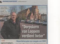 Beheersplan dorpskern Loppem ten vroegste klaar tegen 2020